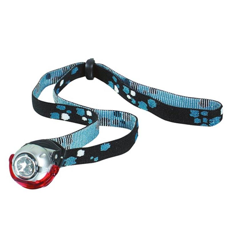 čelová svietidlo Yate 3 LED + CLIP
