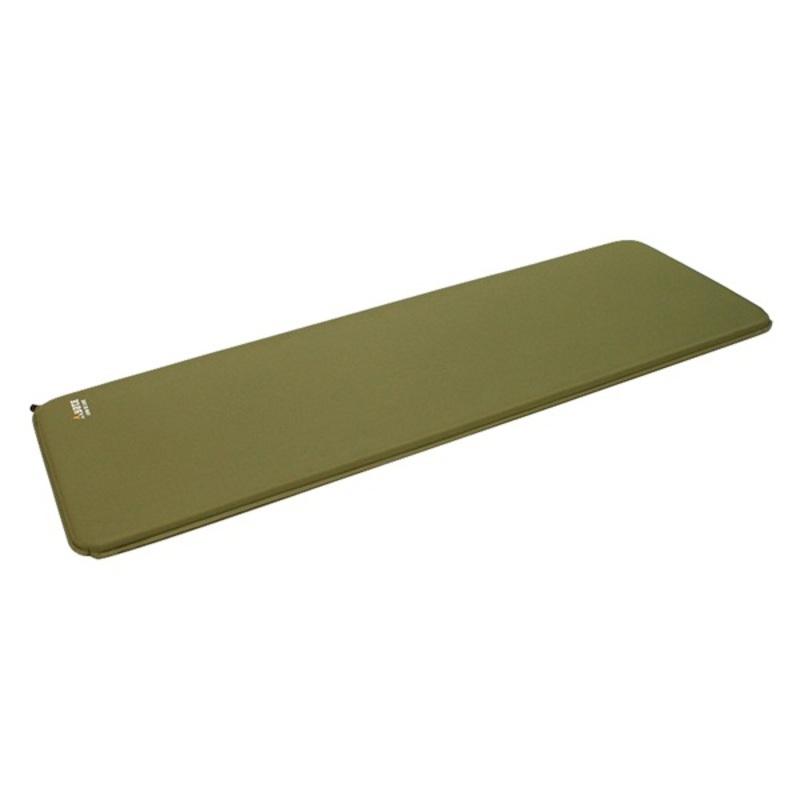 Karimatka YATE LONG DE LUXE zelená 198x66x3.8 cm