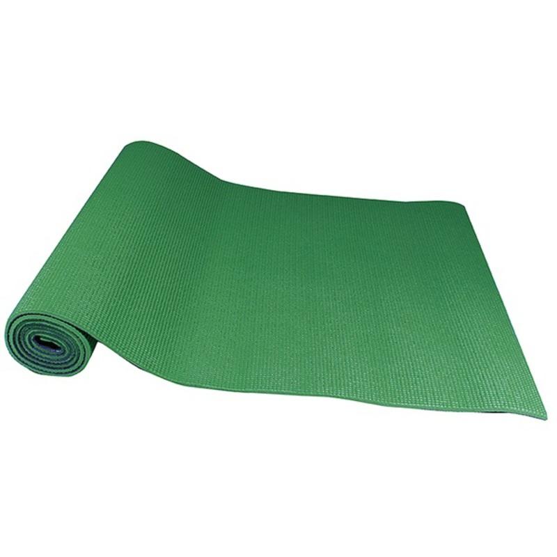 Podložka na jógu Yate YOGA MAT DVOJVRSTVOVÁ zelená / sivá