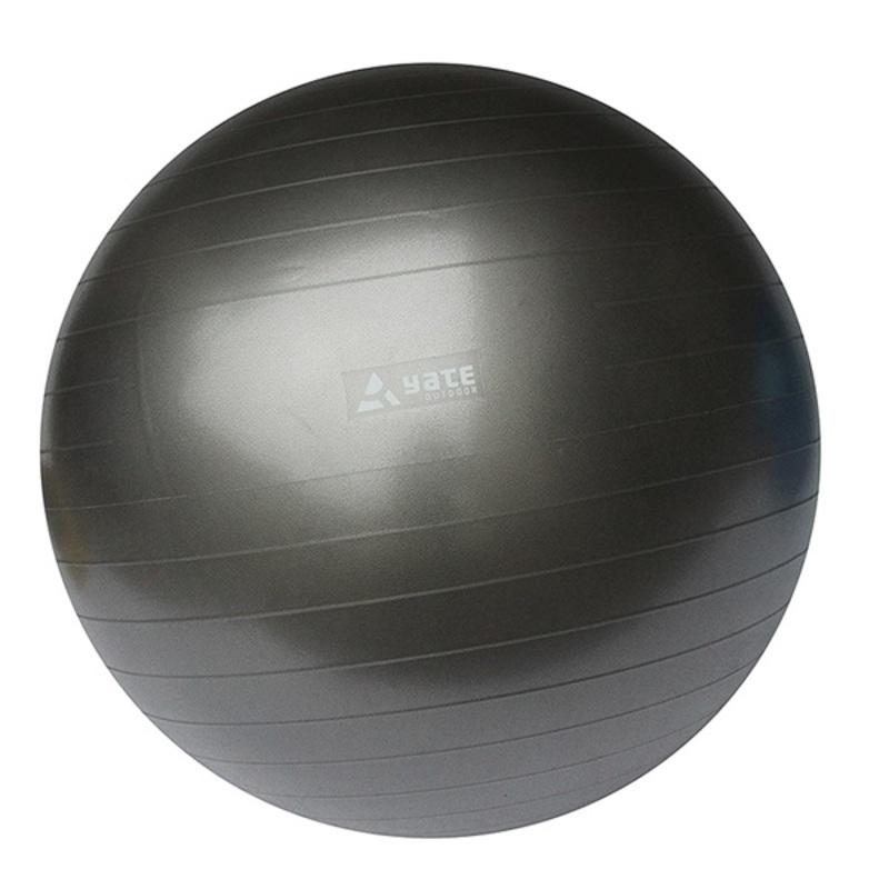 Gymnastický lopta Yate Gymball - 55 cm, šedý