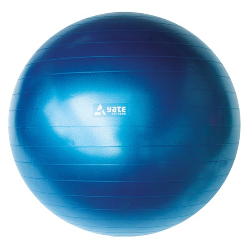 Gymnastický lopta Yate Gymball - 75 cm modrá