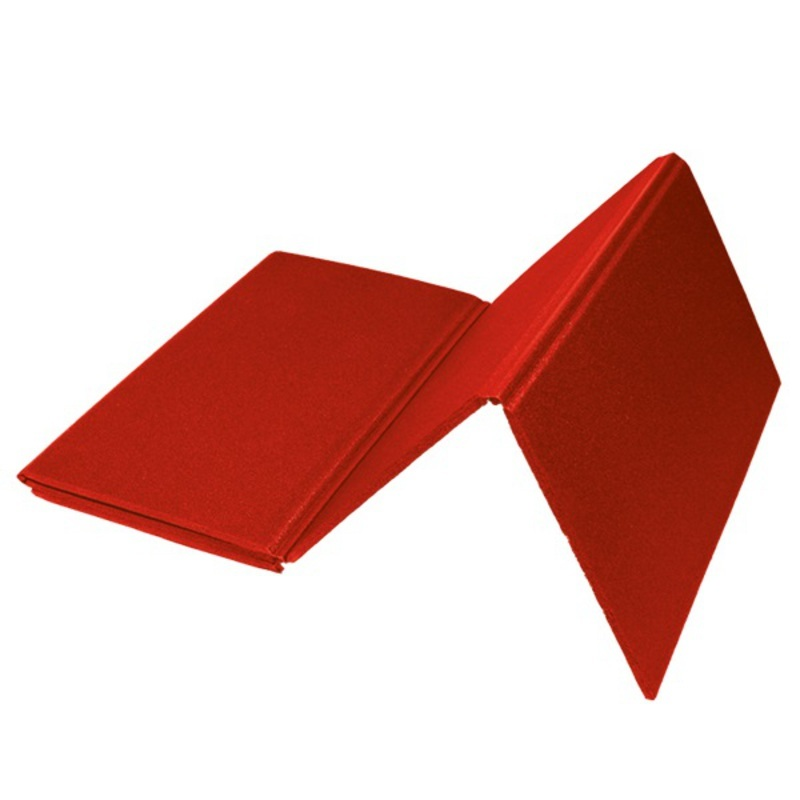 Karimatka YATE jednovrstvová 8mm skladacia 4D, červená R81, 120x50 cm