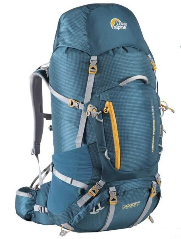 Batoh Lowe alpine Axiom Cerro Torre 65:85 bondi blue / amber