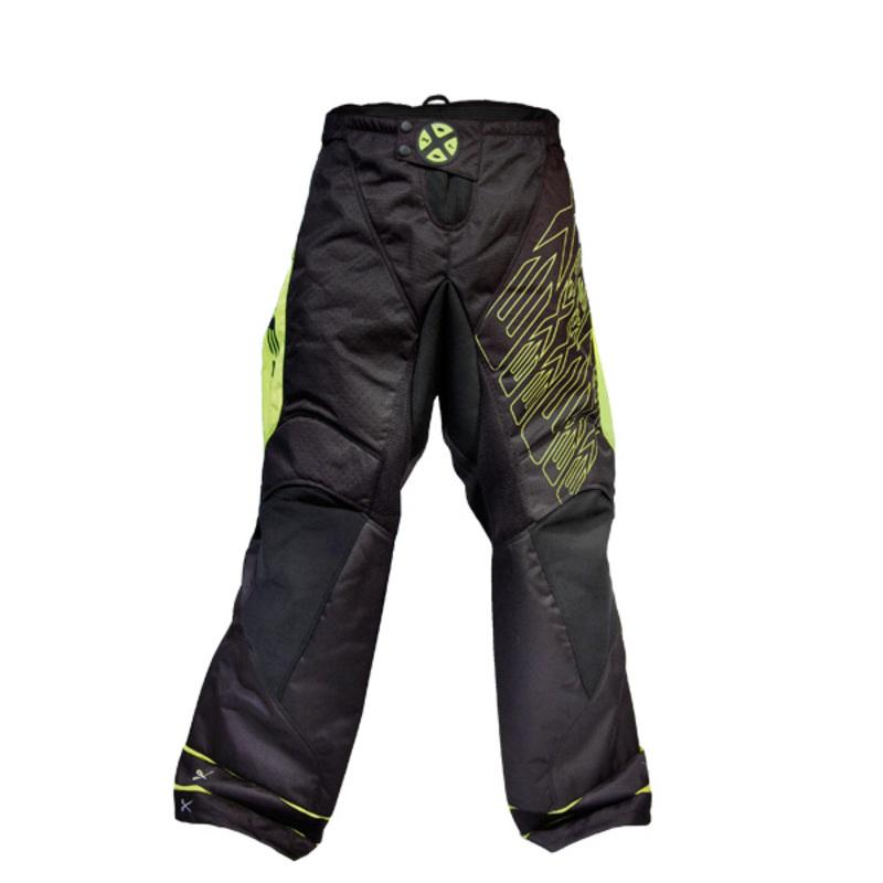 Brankárske nohavice EXEL G1 GOALIE PANTS black / yellow