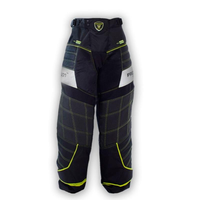 Brankárske nohavice PRECISION GOALIE PANTS black / yellow