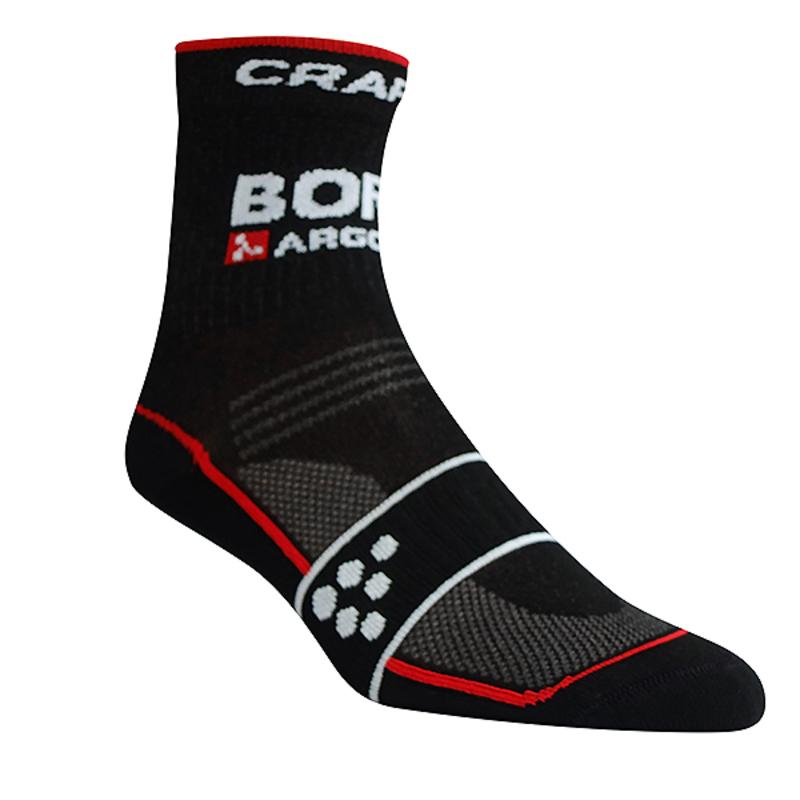 Ponožky CRAFT Bora Argón 18 1904076-9430 - čierna