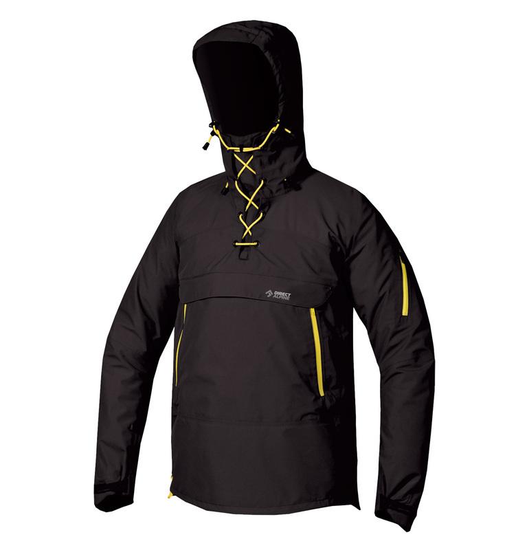Bunda Direct Alpine INUIT ORIGO - anthracite / yellow
