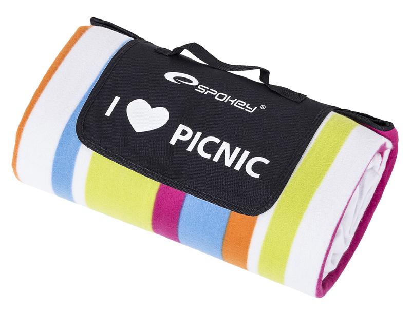 Pikniková deka Spokey I LOVE PICNIC 150x180