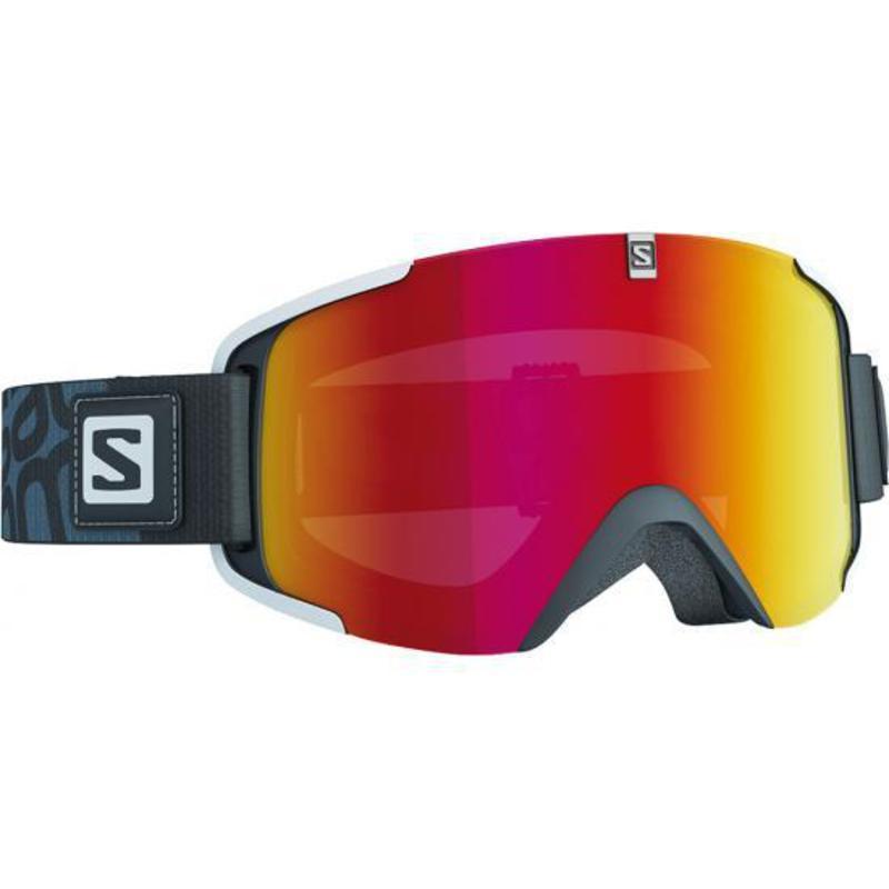 Lyžiarske okuliare Salomon XVIEW Black/Univ. Mid Red 377792