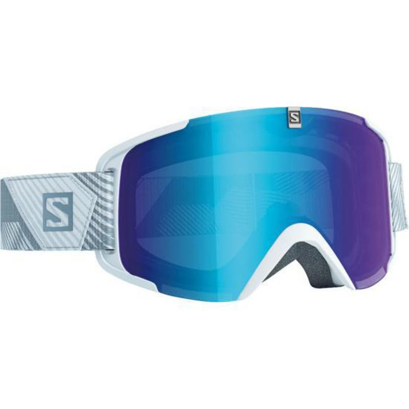 Lyžiarske okuliare Salomon XVIEW White/Univ. Mid Blue 378120