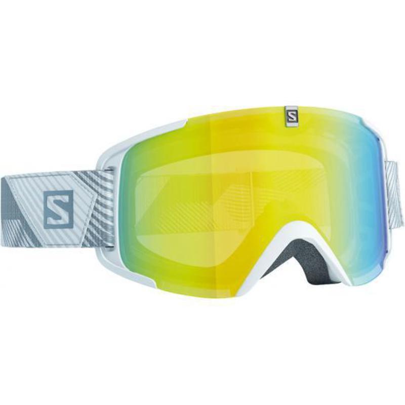Lyžiarske okuliare Salomon XVIEW White/Lolight Lightyellow 377822