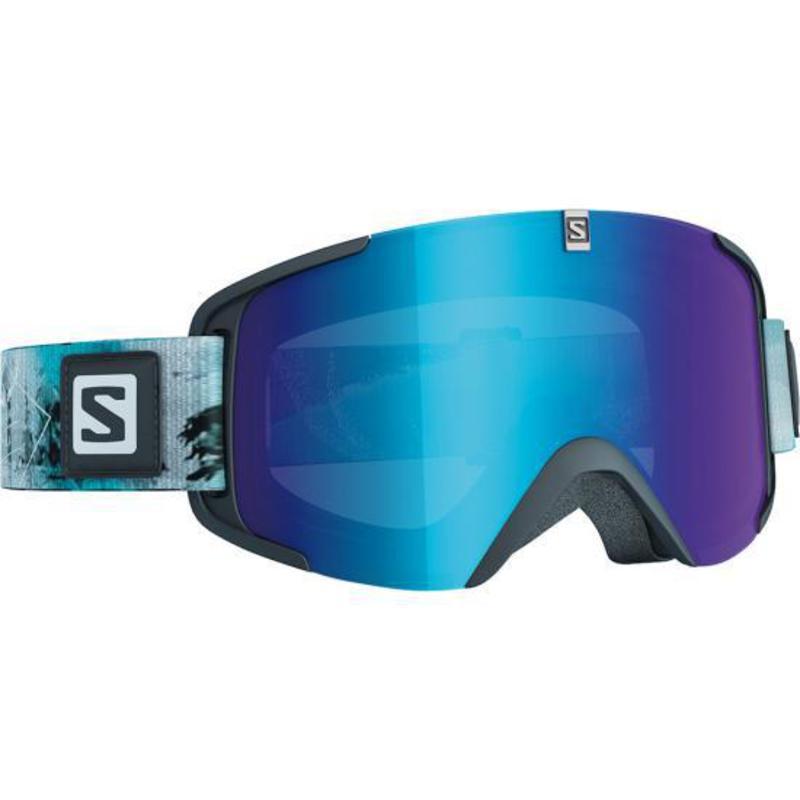 Lyžiarske okuliare Salomon XVIEW Wild Green/Univ.Mid Blue 377826