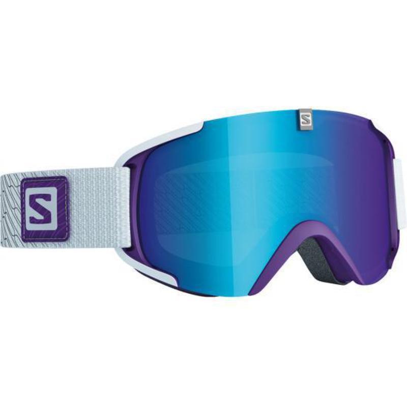 Lyžiarske okuliare Salomon XVIEW S Purple/Univ. Mid Blue 377847