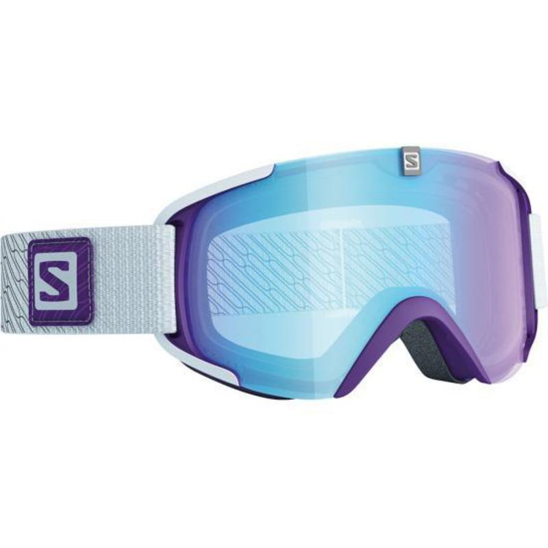 Lyžiarske okuliare Salomon XVIEW S Purple/Lolight Light Blue 377848