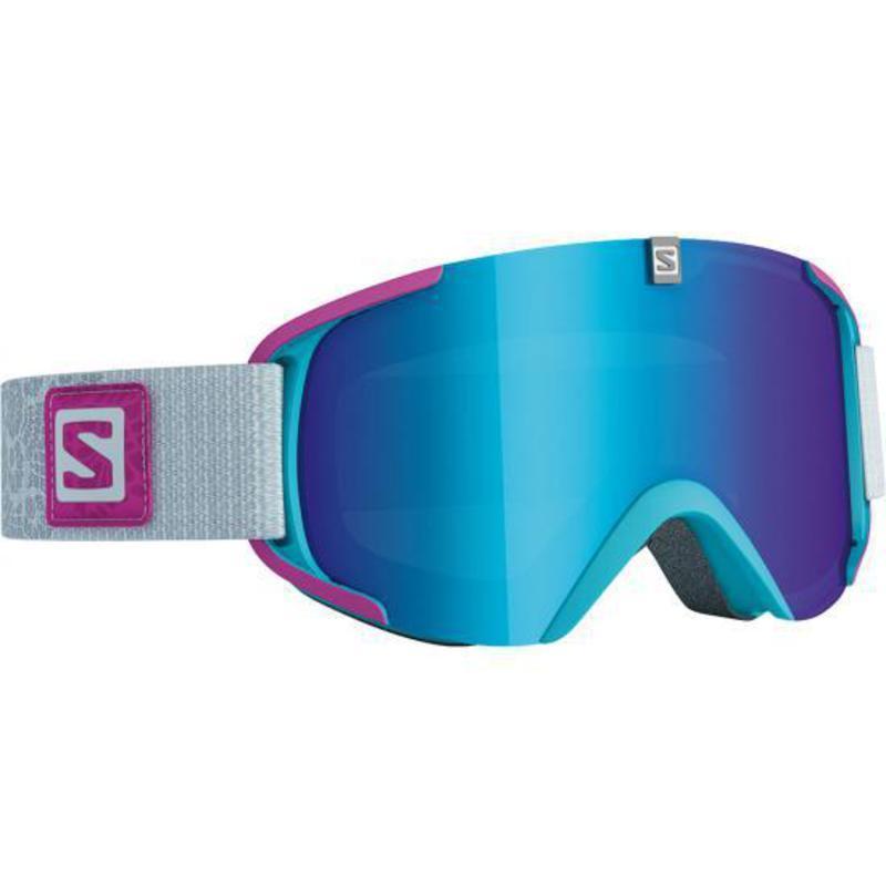 Lyžiarske okuliare Salomon XVIEW S Blue Fuchsia/Solar Blue 377851