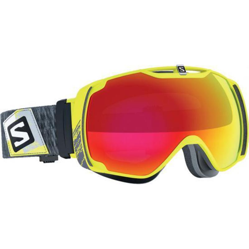 Lyžiarske okuliare Salomon XTEND Yellow/Univ. Mid Red 377776