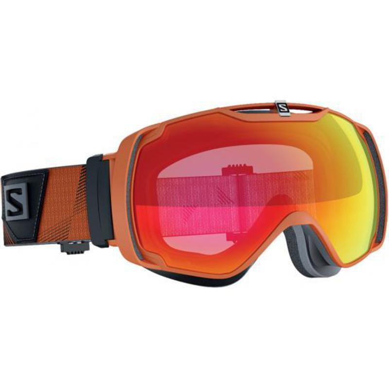 Lyžiarske okuliare Salomon XTEND Orange/Light Red 377774