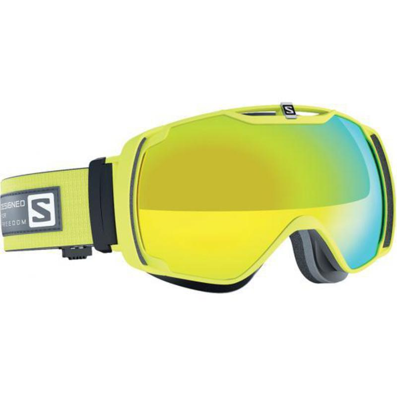 Lyžiarske okuliare Salomon XTEND Gecko Green/Solar Yellow 377777