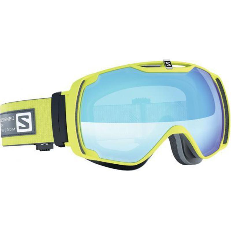 Lyžiarske okuliare Salomon XTEND Gecko Green/Light Blue 377778