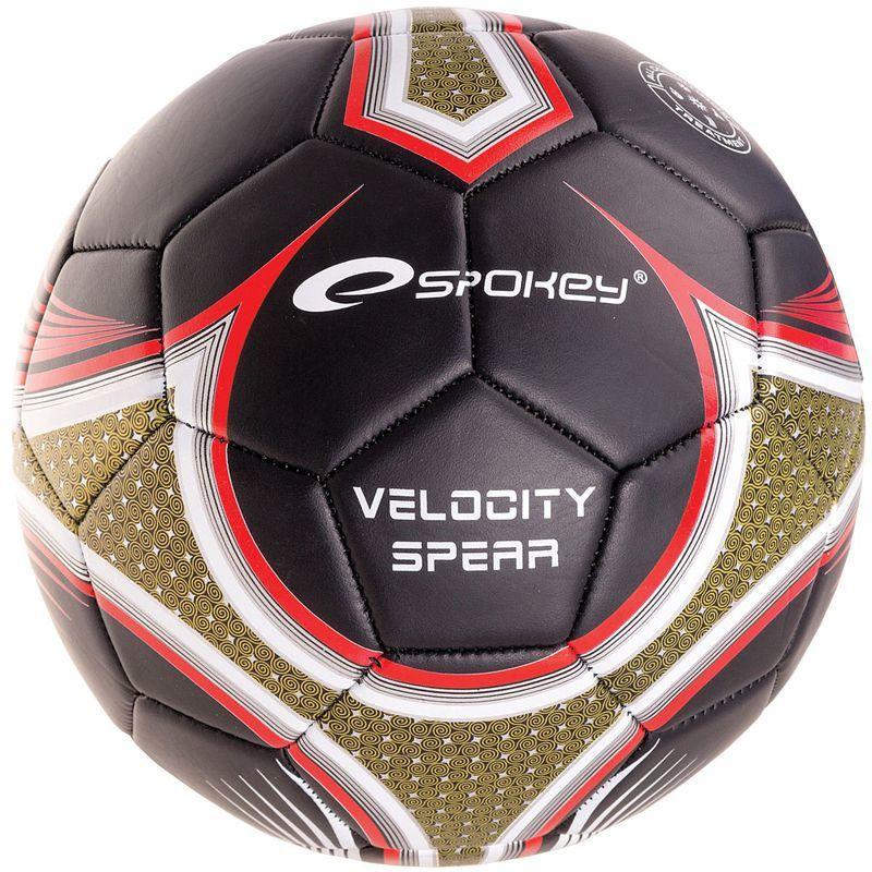 Futbalový lopta Spokey VELOCITY SPEAR čierny č.5