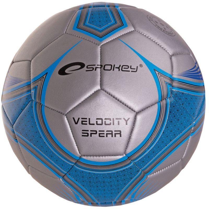 Futbalový lopta Spokey VELOCITY SPEAR modrý č.5