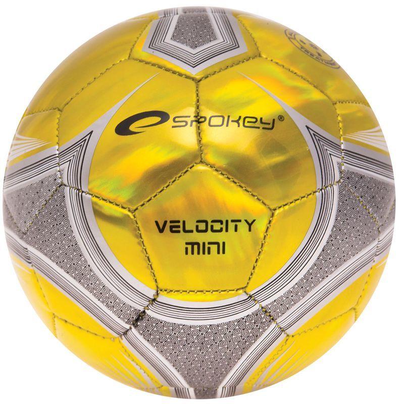 Futbalový lopta Spokey VELOCITY MINI žltý č.2