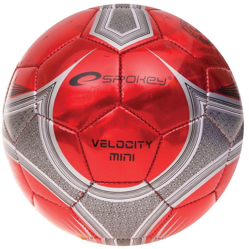 Futbalový lopta Spokey VELOCITY MINI červený č.2