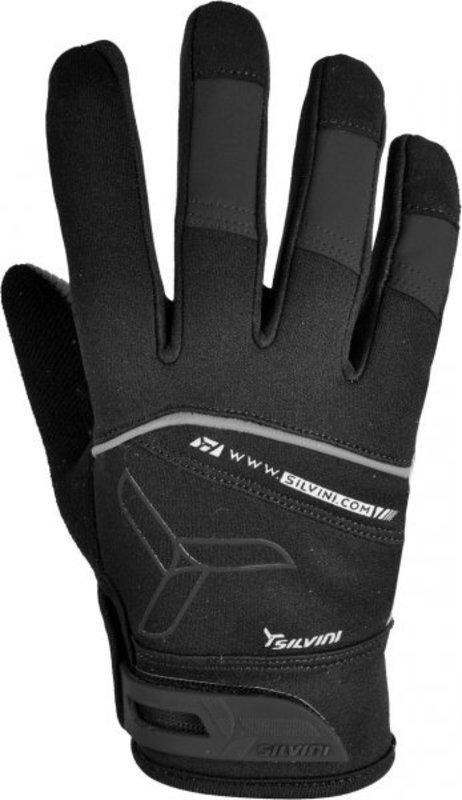 Pánske rukavice Silvini Parco UA519M black