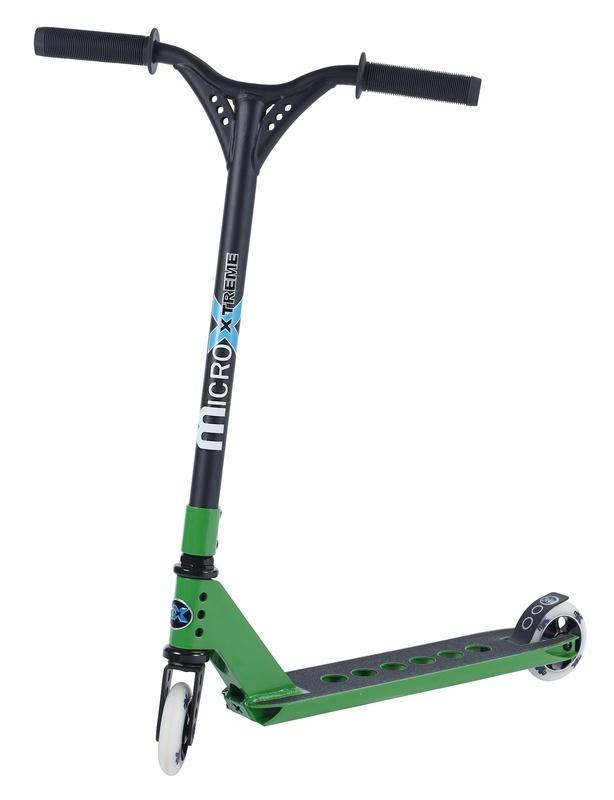 Kolobežka Micro MX Trixx zelená + pegy