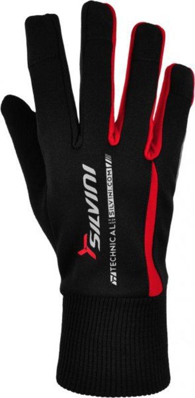Pánske rukavice Silvini Trelca UA521M red