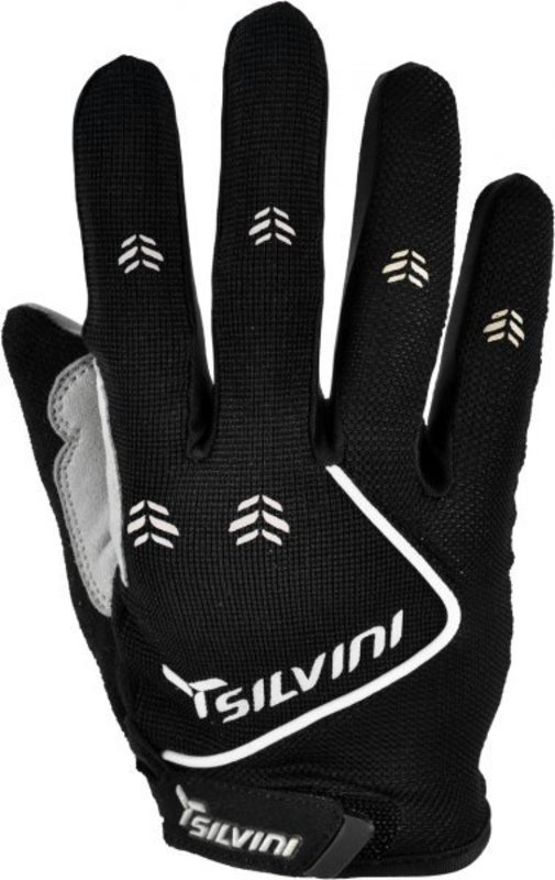 Detské cyklistické rukavice Silvini Barrata UA483K black