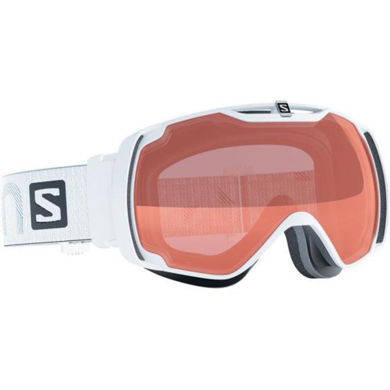 Lyžiarske okuliare Salomon XTEND ACCESS White Low Light Tonic Orange 377769 3ca53bd05b1