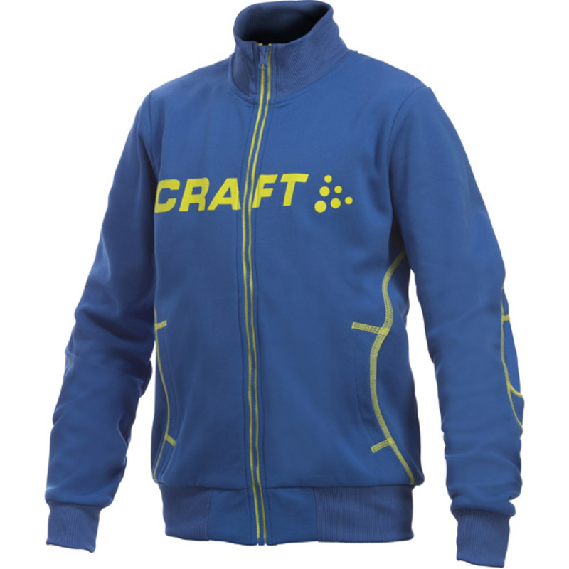 Mikina CRAFT Flex FZ Junior 1902887-2317 - svetlo modrá