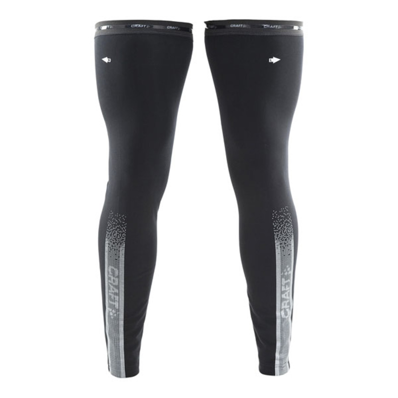 Návleky na nohy CRAFT Shield 1903704-9999 - čierna