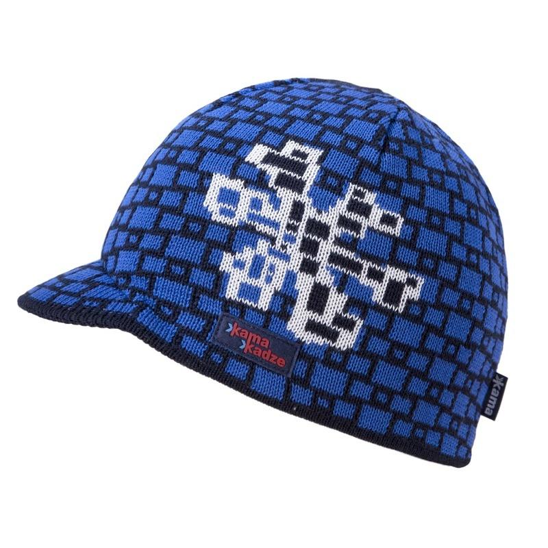 Čiapky Kamakadze K35 108 tmavo modrá