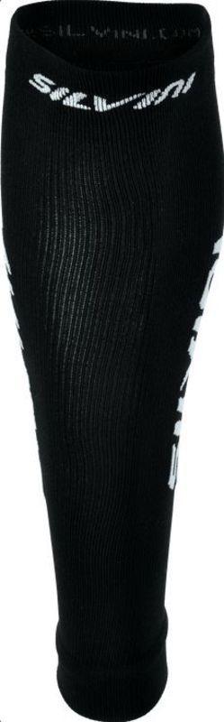 Kompresný lýtkové návleky Silvini CASTELLO UA747 black