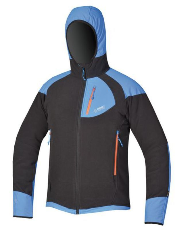 Mikina Direct Alpine Lyskam black / blue 2