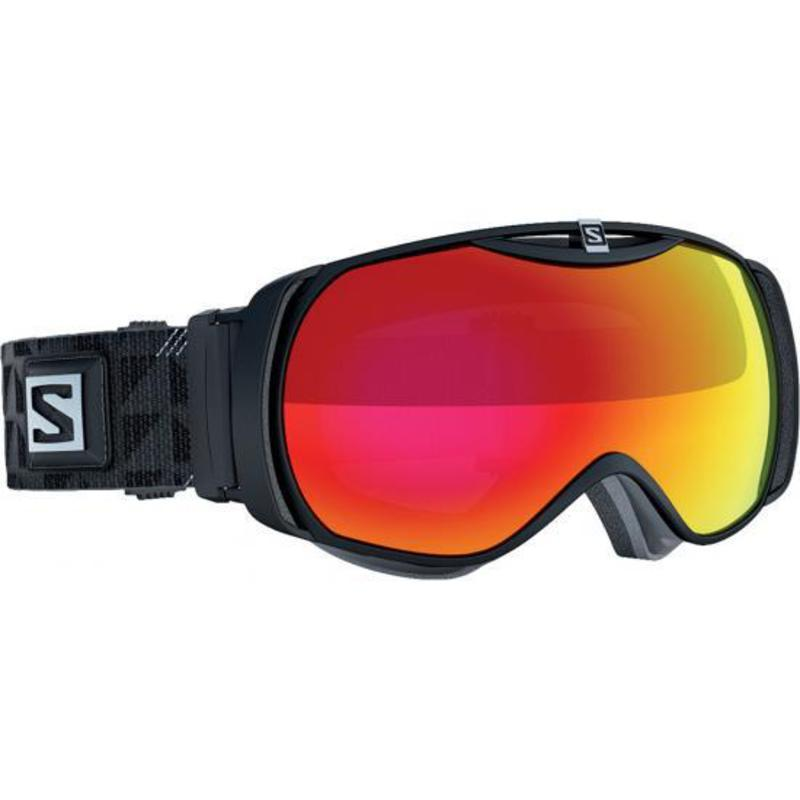 Lyžiarske okuliare Salomon XTEND S Black/Univ. Mid Red 377782