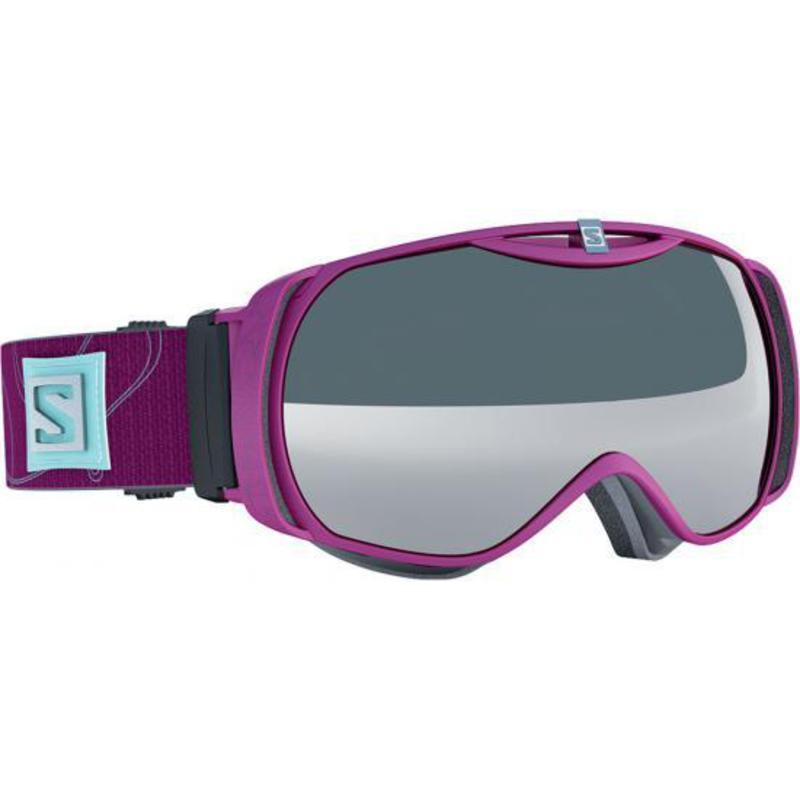 Lyžiarske okuliare Salomon XTEND S Rasberry/Univ. Amber Grey 377837