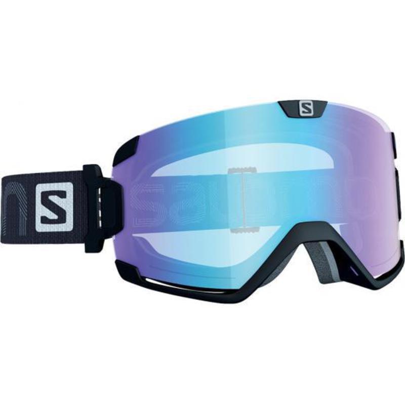 Lyžiarske okuliare Salomon COSMIC AFS Black/Low Light Light Blue 377880