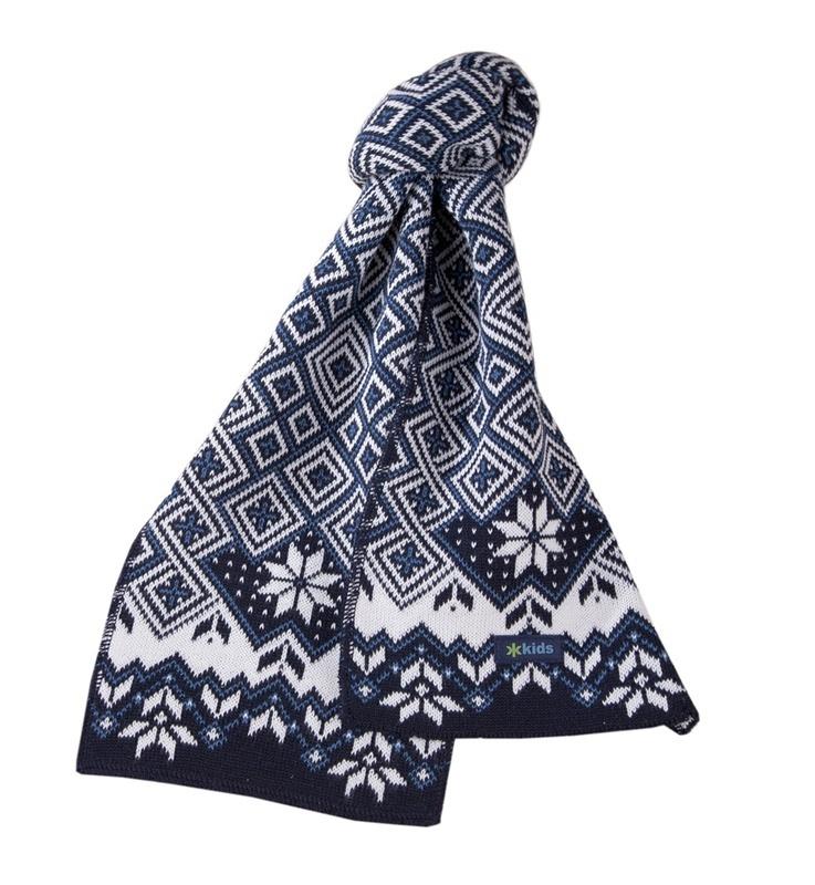 Detská šál Kama SB07 108 tmavo modrá