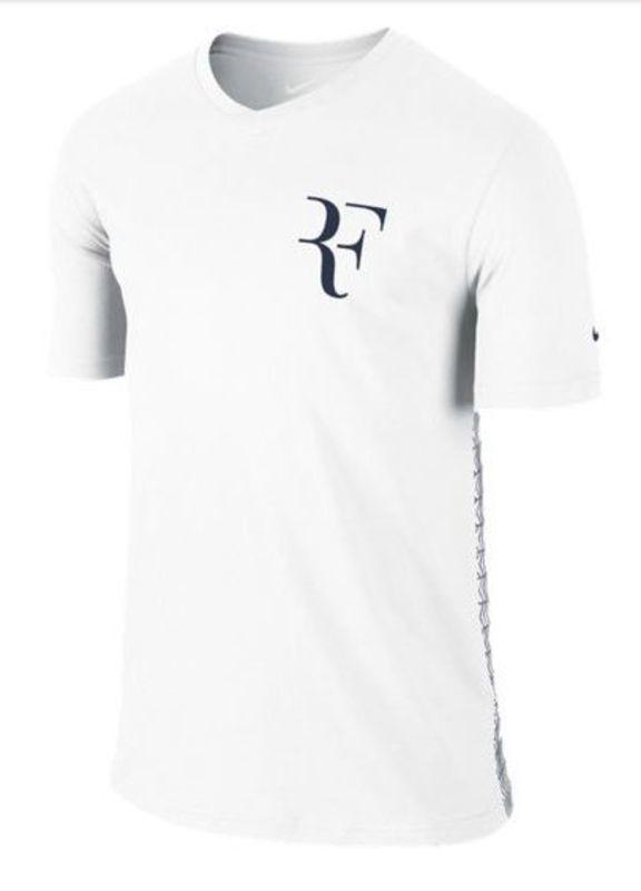 Tričko Nike Roger Federer V-Neck 688576-101