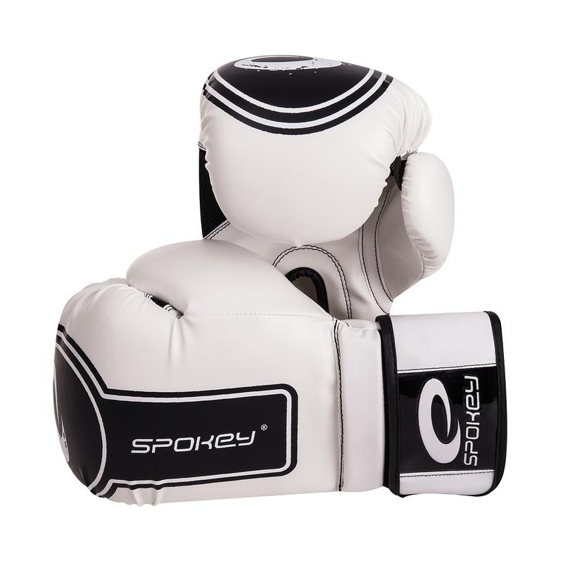 DARUMA Boxerské rukavice biele 10-12oz - všetky veľkosti v detailu
