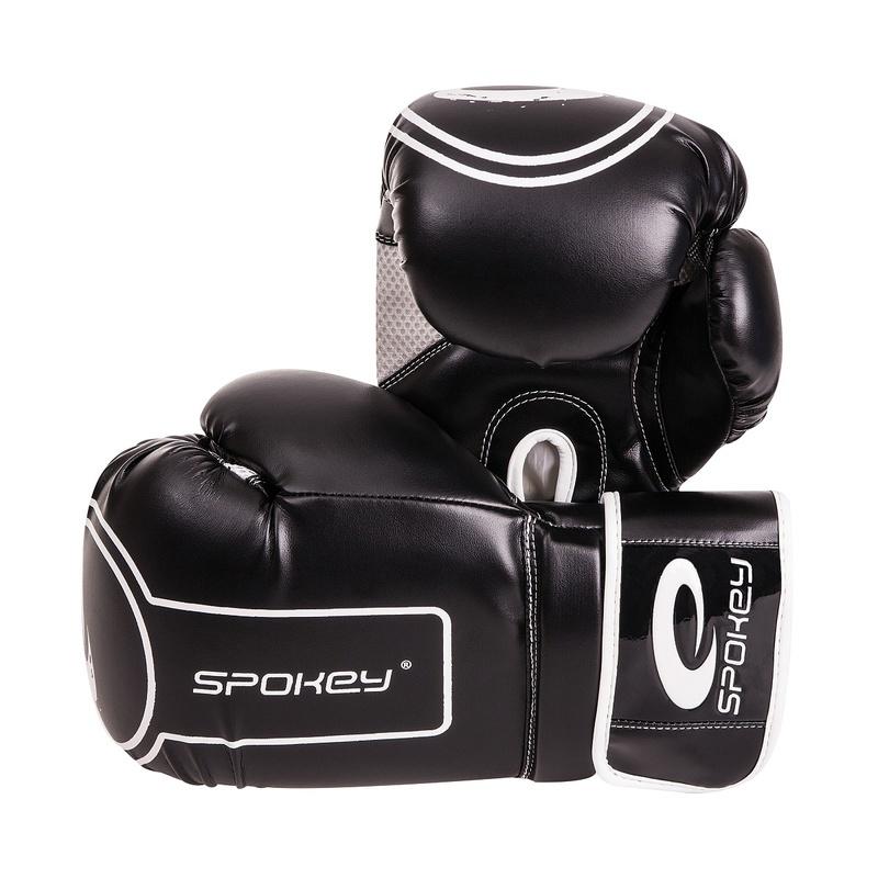 DARUMA Boxerské rukavice čierne 10-12oz - všetky veľkosti v detailu