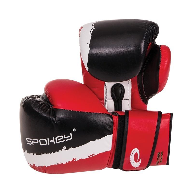 EIKO Boxerské rukavice červené 10-12oz - všetky veľkosti v detailu