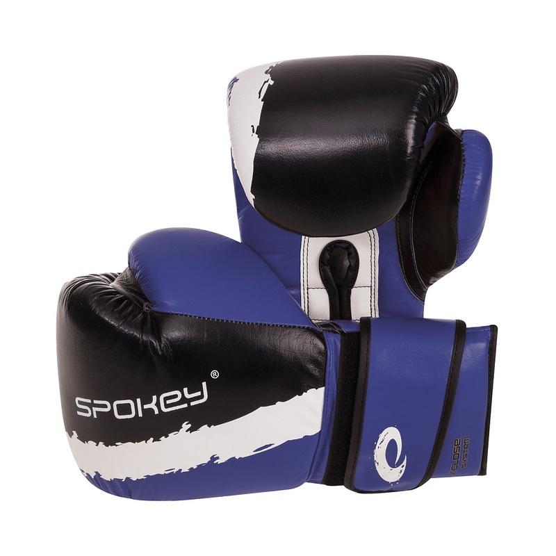 EIKO Boxerské rukavice modré 10-12oz - všetky veľkosti v detailu