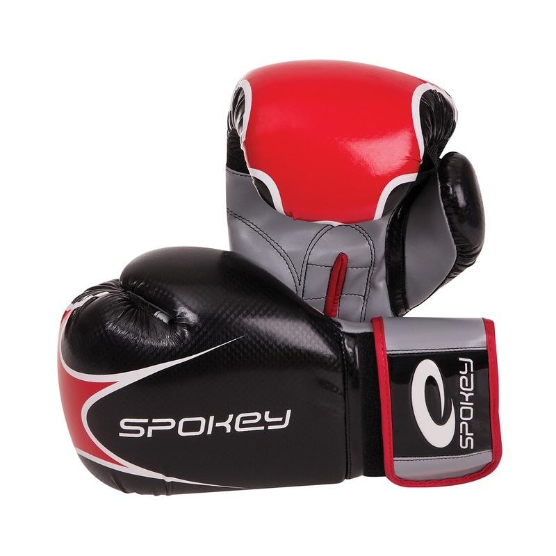 HAKAMA Boxerské rukavice čierne 10-12oz - všetky veľkosti v detailu