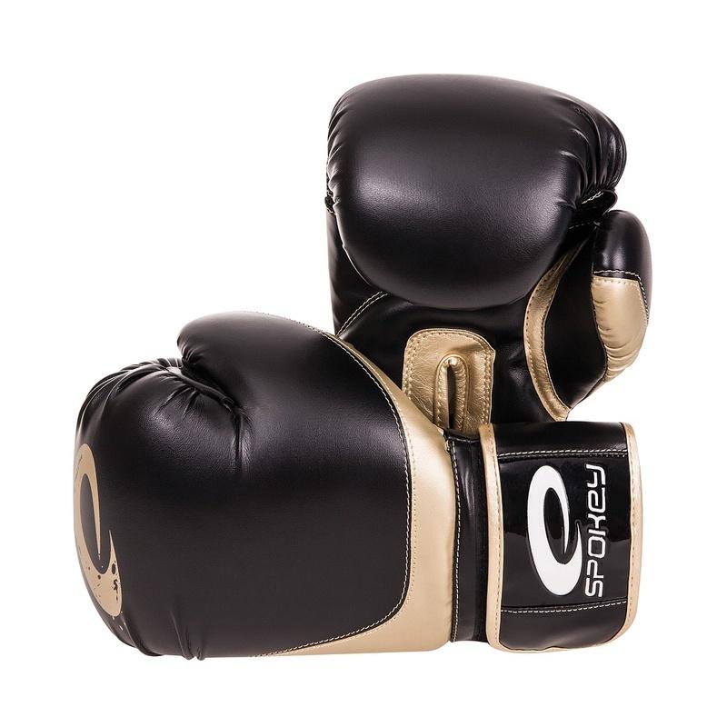 HANIWA Boxerské rukavice čierne 10-12oz - všetky veľkosti v detailu