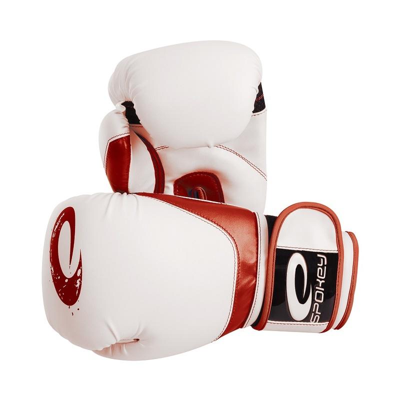 JIEITAI Boxerské rukavice červené 10-12oz - všetky veľkosti v detailu
