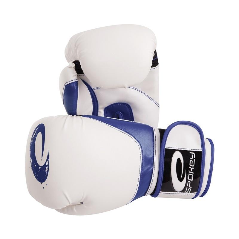 JIEITAI Boxerské rukavice modré 10-12oz - všetky veľkosti v detailu